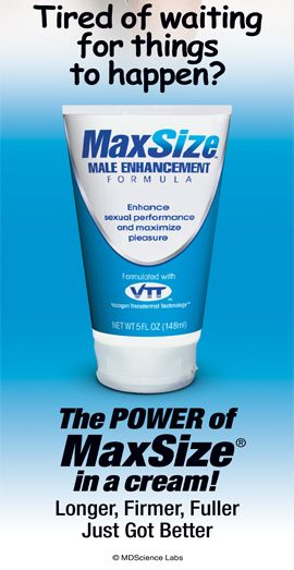 maxsize male enhancment cream